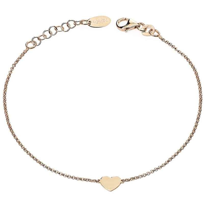 Amen BRHR3 Damen-Armband Herz Rosé 8054719000334