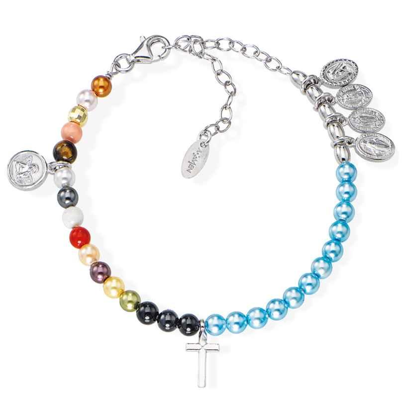 Amen BRVIMA Damen-Armband Vita Maria 925 Silber 8054719107354