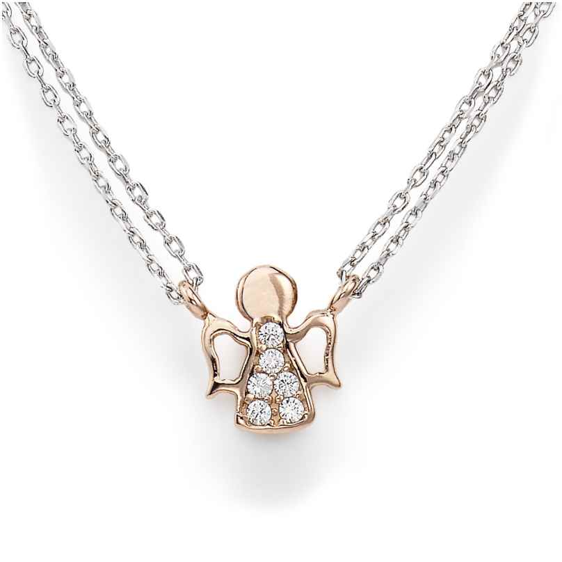 Amen CL2ABR Damen-Kette Engel Rosé 925 Silber 8054719089513