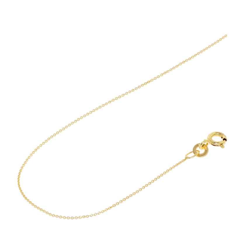 Acalee 10-1008 Halskette 333 Gold / 8 Karat Anker-Kette 0,8 mm