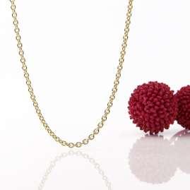 Acalee 10-1020 Halskette 333 Gold / 8 Karat Anker-Kette 2,0 mm