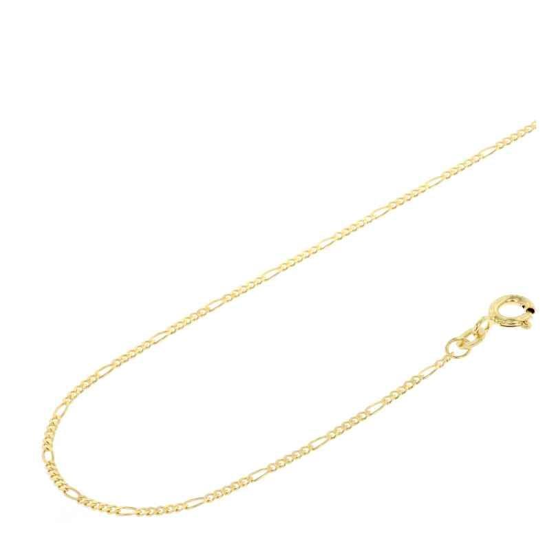 Acalee 10-4015 Halskette 333 Gold / 8 Karat Figaro-Kette 1,5 mm