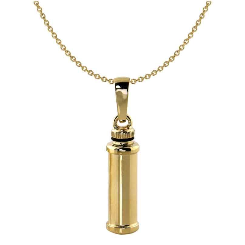 Acalee 40-4001 Mini-Urne Kapsel 375 Gold + Halskette