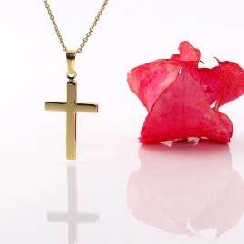 Acalee 20-1210 Halskette mit Kreuz aus Gold 333 / 8 Karat