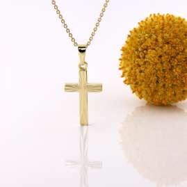 Acalee 20-1211 Halskette mit Kreuz aus Gold 333 / 8 Karat
