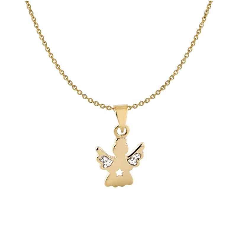Acalee 50-1010 Halskette für Kinder mit Engel Gold 333 / 8K 4260727510589