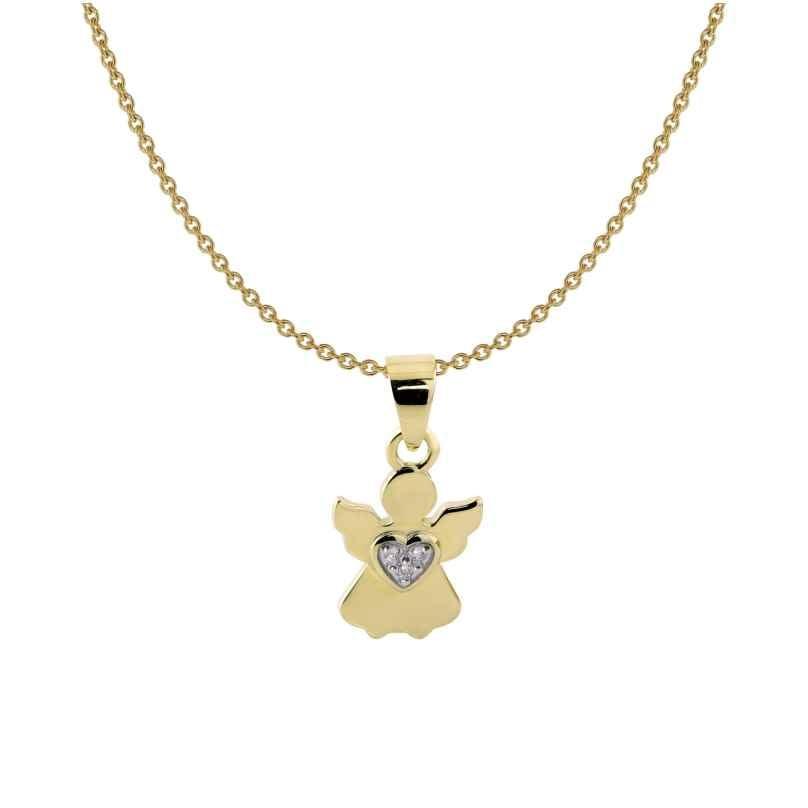 Acalee 50-1011 Kinder-Halskette mit Engel Gold 333 / 8K 4260727510602