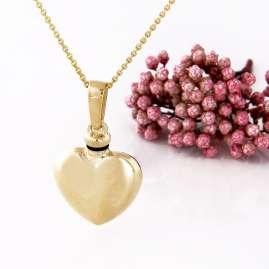 Acalee 80-8002 Urnen-Anhänger Herz 375 Gold / 9 Karat