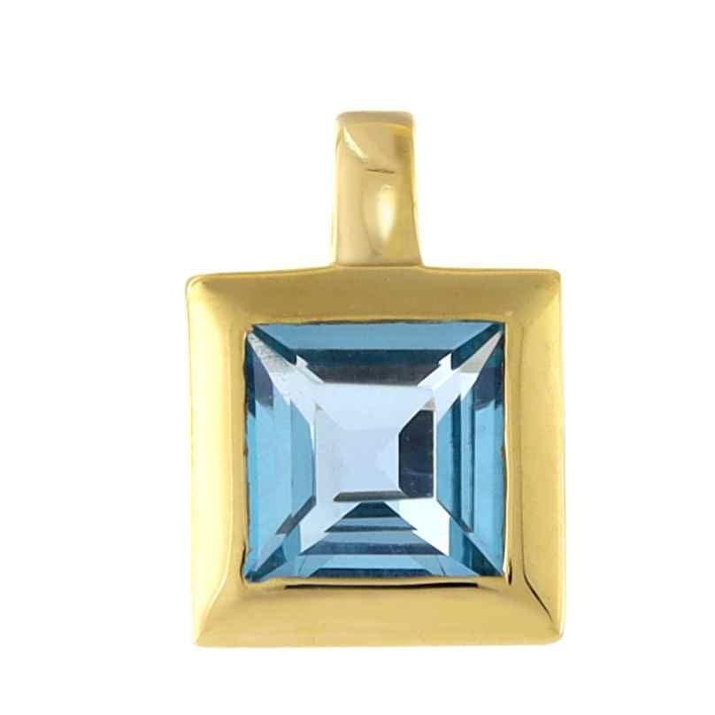Acalee 80-1004-02 Gold Anhänger 333 / 8K Gelbgold Topas Swiss Blau 4260727514068