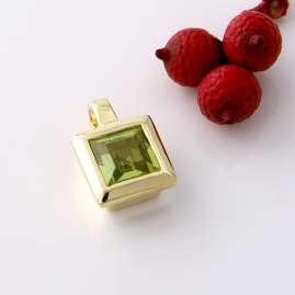 Acalee 80-1004-04 Gold Anhänger 333 / 8K Gelbgold mit Peridot