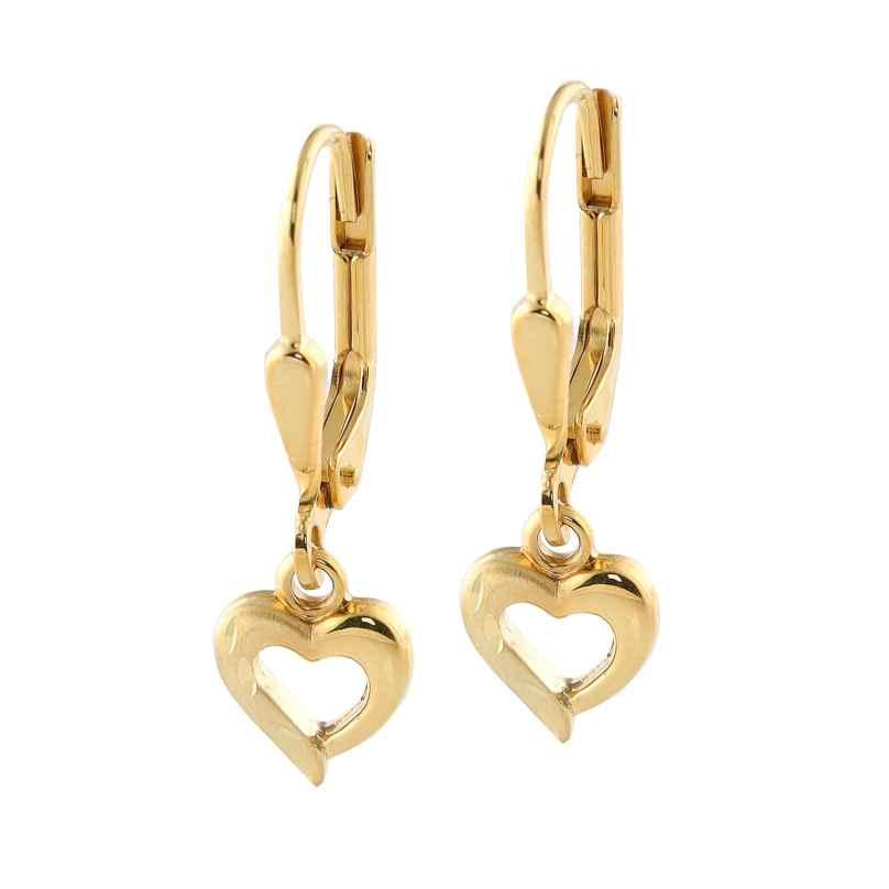 Acalee 70-1012 Ohrringe für Mädchen 333 / 8 Karat Gold 4260727511043