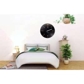 Dreizeit BH3W Wall Clock Bauhaus No. 3 with White Hand