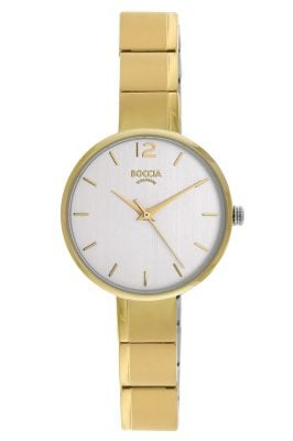 Boccia 3308-03 Damen-Armbanduhr Titan