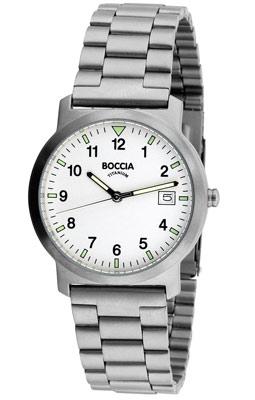 Boccia 3630-01 Titanium Herrenuhr