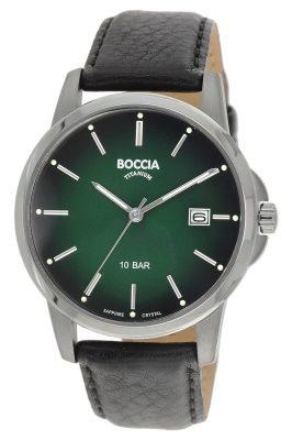 Boccia 3633-02 Herrenuhr Titan
