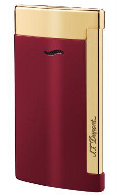 S.T. Dupont 027707 Feuerzeug Slim 7 Rouge & Doré
