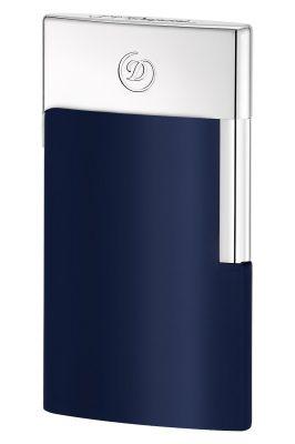 S.T. Dupont 027008E Elektrisches Feuerzeug E-Slim Blau