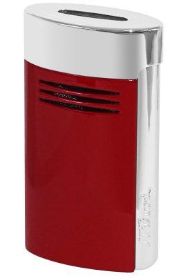 S.T. Dupont 020703 Feuerzeug Megajet Rot/Chrom