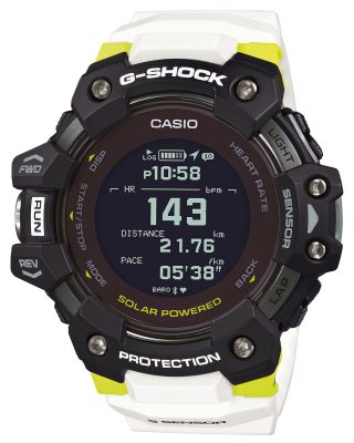 Casio GBD-H1000-1A7ER G-Shock Smartwatch Herrenuhr Bluetooth Weiß