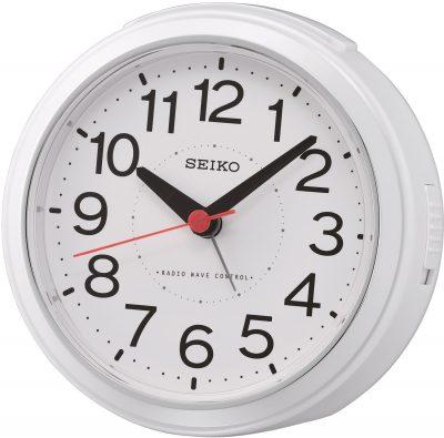 Seiko QHR026W Funkwecker Weiß