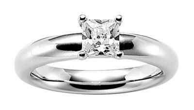 Viventy 765031 Verlobungsring 925 Sterlingsilber für Heiratsantrag