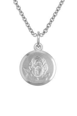 trendor 73396 Silberkette mit Amor für Kinder