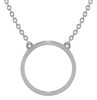 trendor 08320 Silberkette mit Anhänger