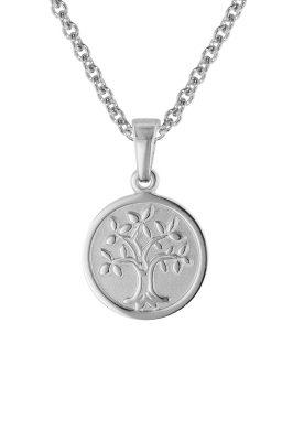 trendor 08469 Kinder-Halskette mit Lebensbaum Silber 925