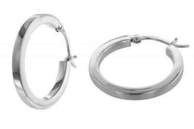 trendor 08772 Ohrringe Silber 25 mm
