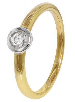 trendor 35254 Diamant-Goldring