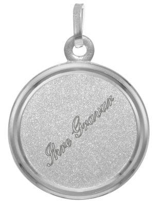 trendor 73952 Gravur-Anhänger Silber