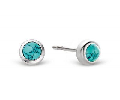 Ti Sento 7597TQ Silber-Ohrringe für Damen Türkis