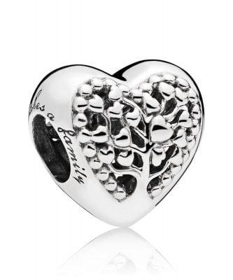 Pandora 797058 Charm Blühende Herzen