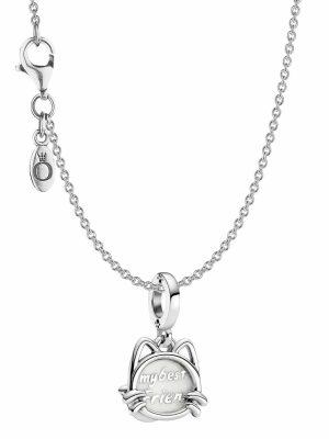 Pandora 39806 Damen-Halskette Mein Haustier Katze Silber