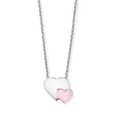 Herzengel HEN-13-HEARTS Mädchen-Halskette Herzen