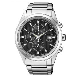 Citizen CA0650-82F Herrenuhr Chronograph Eco-Drive Super Titanium