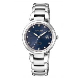 Citizen EW2500-88L Eco-Drive Ladies Watch Titanium