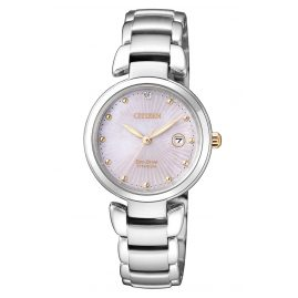 Citizen EW2506-81Y Eco-Drive Titanium Ladies Watch