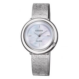Citizen EM0640-82D Eco-Drive Elegance Ladies' Watch with Diamond