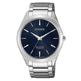 Citizen BJ6520-82L Men´s Wristwatch Eco-Drive Titanium