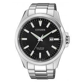 Citizen BM7470-84E Herren-Armbanduhr Eco-Drive Titan