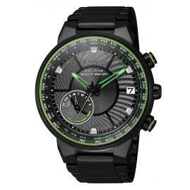 Citizen CC3075-80E Herren-Armbanduhr Eco-Drive Satellite Wave