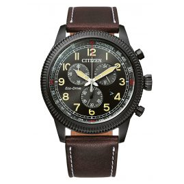 Citizen AT2465-18E Men's Wristwatch Eco-Drive Chronograph