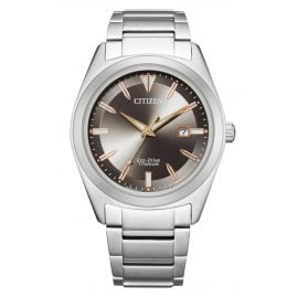 Citizen AW1640-83H Eco-Drive Herrenuhr Titan Grau