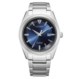 Citizen AW1640-83L Eco-Drive Men's Wristwatch Titanium Blue