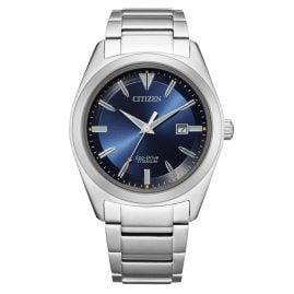 Citizen AW1640-83L Eco-Drive Herren-Armbanduhr Titan Blau
