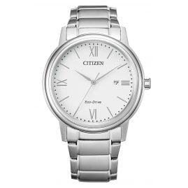 Citizen AW1670-82A Eco-Drive Men's Watch Solar White