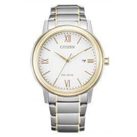 Citizen AW1676-86A Eco-Drive Herrenuhr Solar Bicolor
