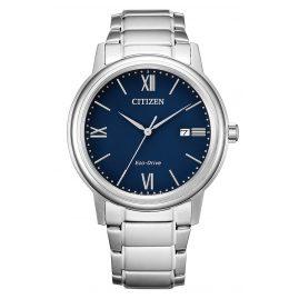 Citizen AW1670-82L Eco-Drive Herren-Armbanduhr Solar Blau