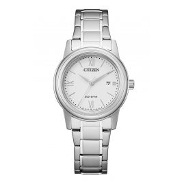 Citizen FE1220-89A Eco-Drive Solar Ladies' Watch with Steel Bracelet